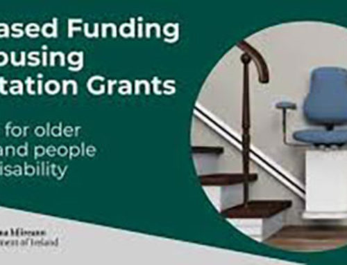 Funding for Galway County Council to help support housing improvements for Older People and People with Disabilities