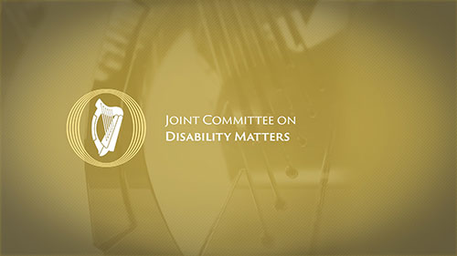 Welcome statement from Committee on Disability Matters on RTÉ Investigates report