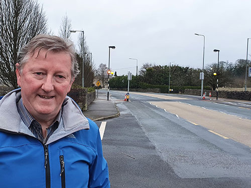 Two new pedestrian crossings fully operational in Tuam