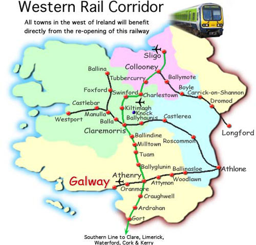 Welcome new study on the feasibility of the Western Rail Corridor