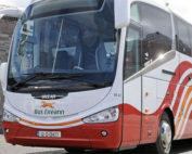 Challenges Bus Eireann and the National Transport Authority for removing public transport services in Loughrea.
