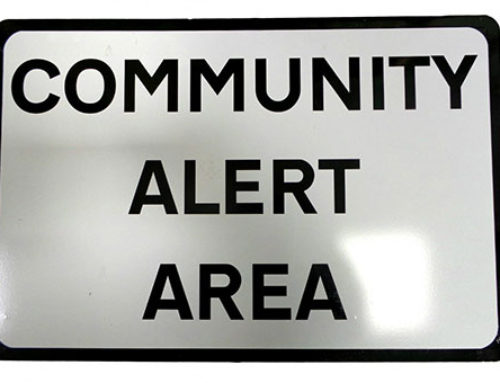 Praise for Community Alert Groups for their work in keeping their communities safe